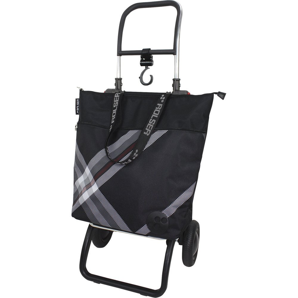 Rolser ショッピングカート イーナ (チェックBK) フレーム+バッグセット B01LP86IO2 チェックBK チェックBK