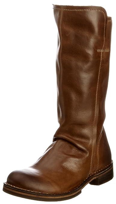 FLY London Nobo Leather P210698001, Damen Stiefel, Braun