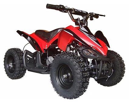 Amazon Com Big Toys Usa Mototec 24v Mini Quad V2 Red Sports
