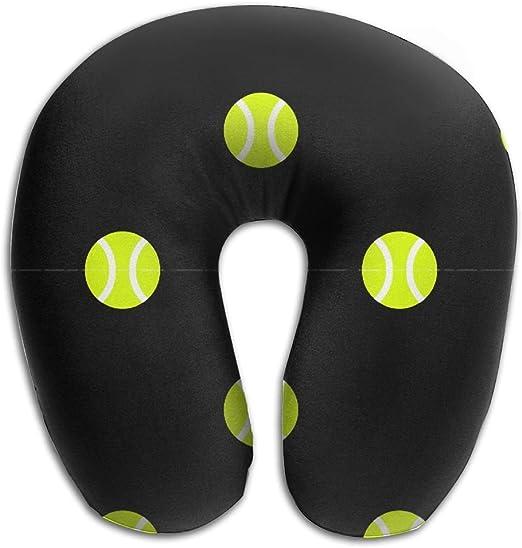 Suave Negro de pelota de tenis de puntos en forma de U de espuma ...