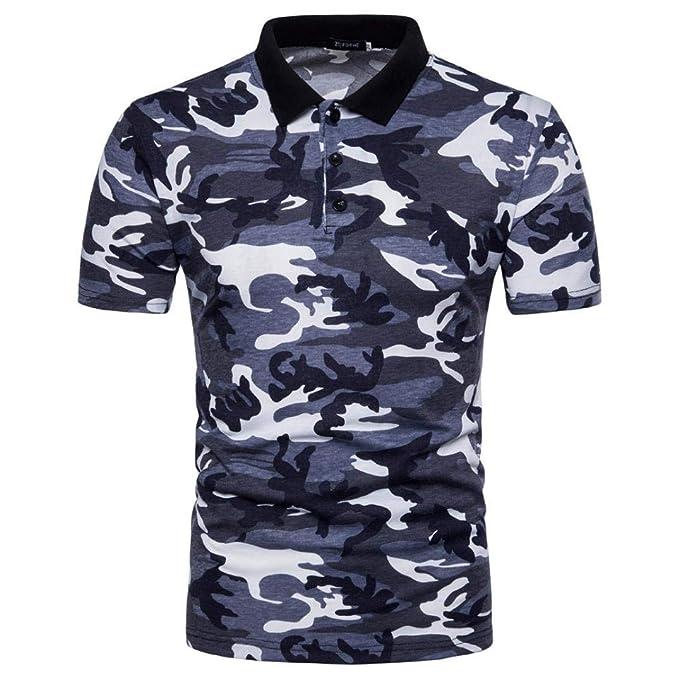 Polo Camisa De Polo De Camuflaje Camuflaje De Verano Camisa para ...
