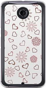 Loud Universe Nexus 6 2015 Love Valentine Printing Files A Valentine 132 Printed Transparent Edge Case - Off White/Red