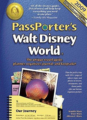 Read Online PassPorter's Walt Disney World 2009: The Unique Travel Guide, Planner, Organizer, Journal, and Keepsake! PDF