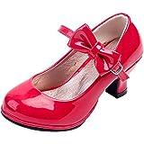 4cb331e3d3a7 Wuyulunbi@Girl High Heel Schuhe Kleider und Schuhe Tanz Performance ...