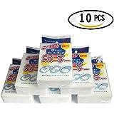 muzuo Borrador mágico esponja Pack con 10gomas de borrar–Elimina la suciedad, jabón & Desechos de todos los tipos de superficies–Esponja de limpieza universal para Home & Auto