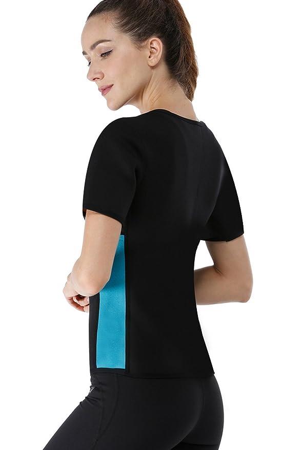 LaLaAreal Fajas Reductoras Adelgazantes Camiseta Reductora Sauna Chaleco Neopreno de Sudoración para Deporte: Amazon.es: Ropa y accesorios