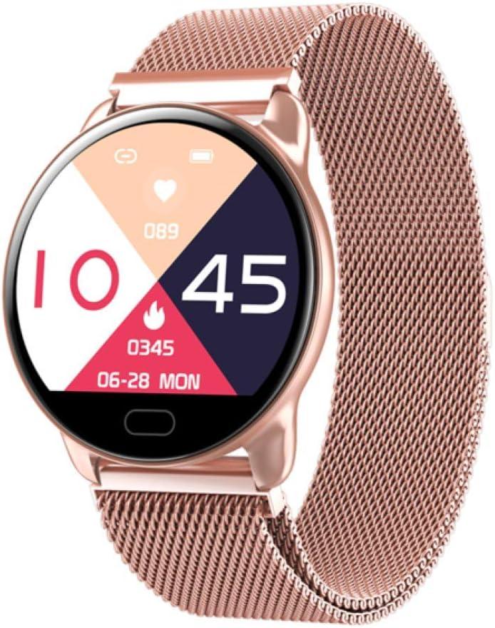 HNLZGL K9 Reloj Inteligente para Mujer, Control de música, Reloj ...