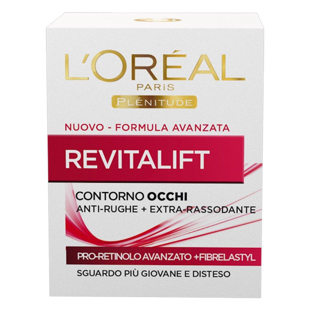 L'Oréal Paris Revitalift Crema Viso Contorno Occhi Anti-Rughe Giorno con Pro-Retinolo Avanzato, 15 ml A0247015