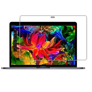 Protector de pantalla de lokeke para MacBook Pro de 15 pulgadas de 2016, 2,5D, bordes redondeados, de vidrio Templado: Amazon.es: Electrónica