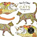 Vive Le Color! Cats (Adult Coloring Book): Color In; De-stress (72 Tear-out Pages)