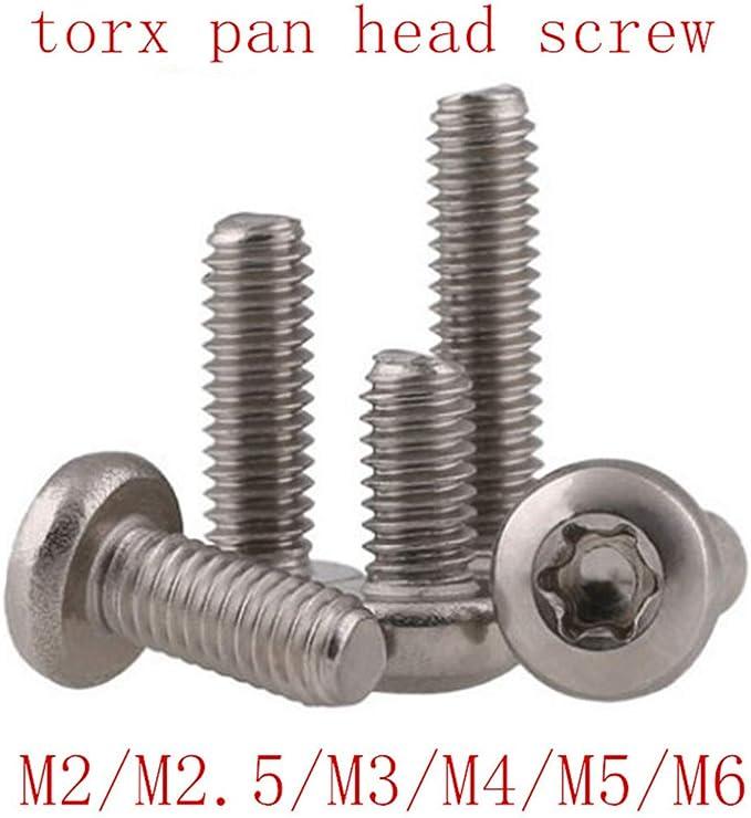 Span PIASTRE viti a9046 TORX 4,5mm in acciaio inox va legno Bausch BRUCO filettatura pieno
