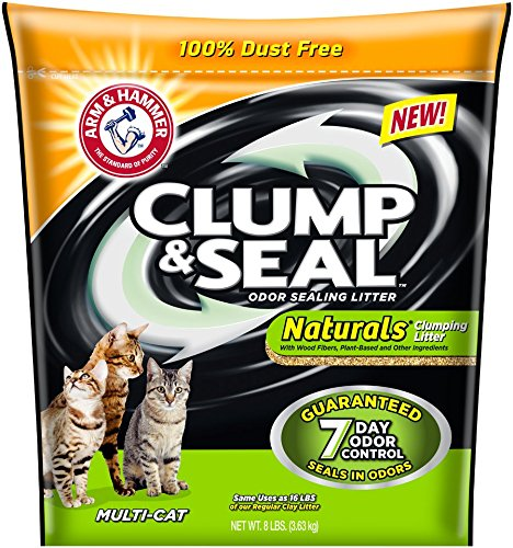 Arm & Hammer Clump & Seal Naturals Litter, Multi-Cat, 8 Lbs (Cat Litter Seal compare prices)