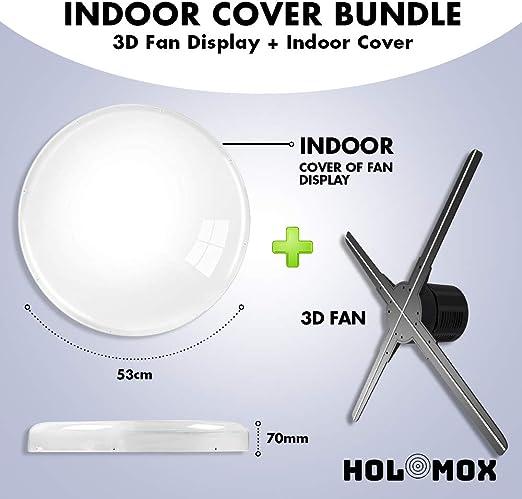 Amazon.com: HOLOMOX Paquete 3D Holograma Publicidad Display ...