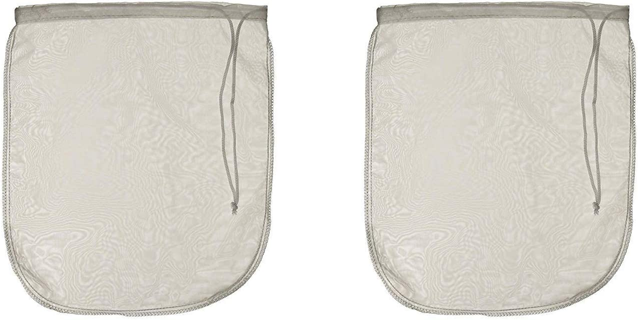 LERORO Premium Fine Mesh Nylon Food Grade Nut Milk Bag for Almond Milk/Soy Milk/Juicing/Coffees, Big Size,12