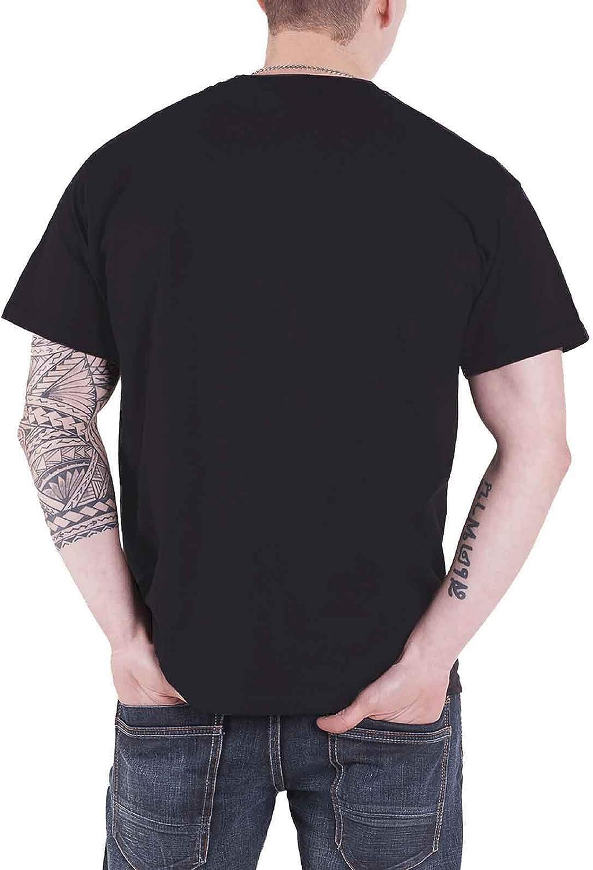 Five Finger Death Punch T Shirt Locked /& Loaded Band Logo Officiel Homme