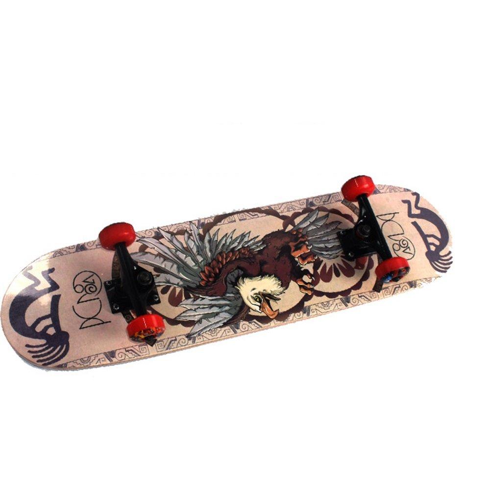 Susulv Planche /à roulettes de Planche /à roulettes Adulte Rue Skateboard Plus /érable Double Panneau Sports Extr/êmes