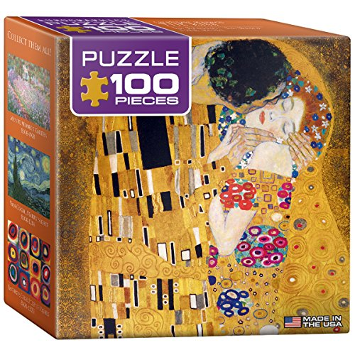 EuroGraphics Klimt - The Kiss (Der Kuss) Mini Puzzle (100-Piece)