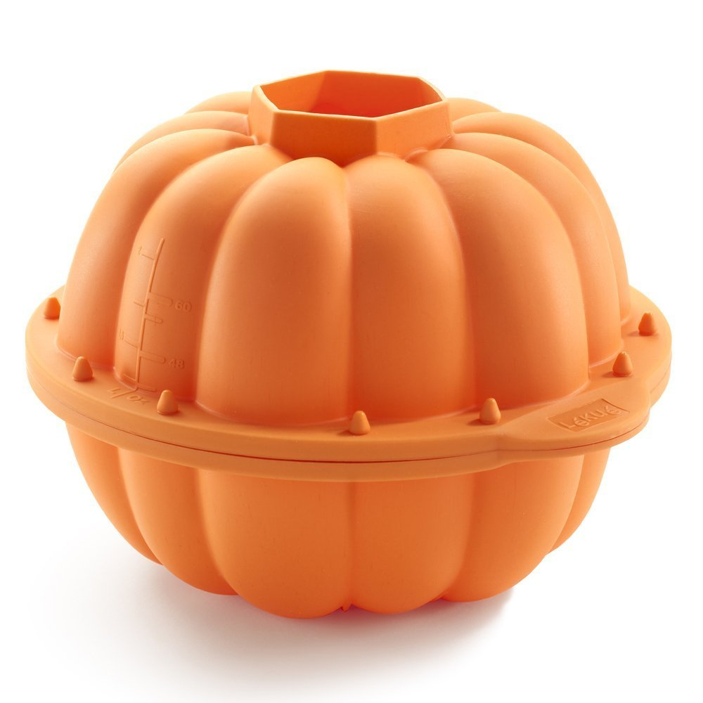Lekue Pumpkin 3D Mold, Orange