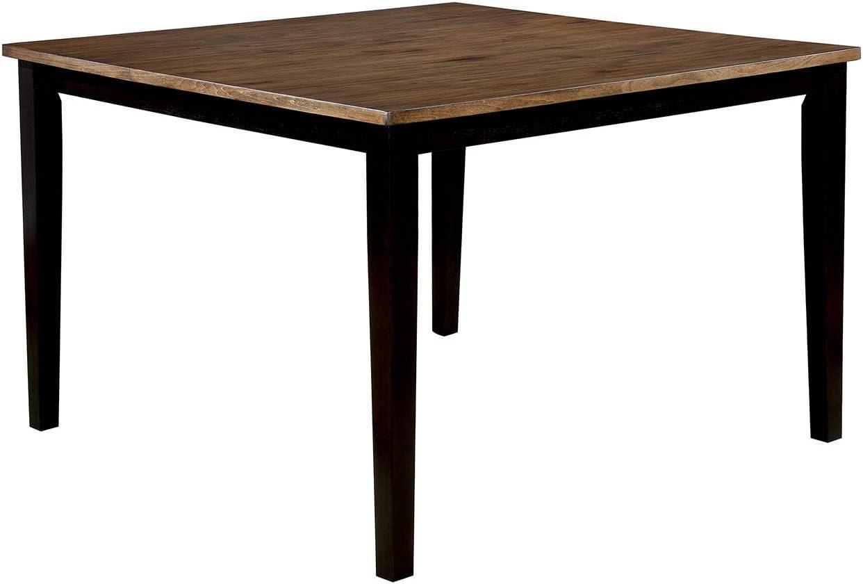 Marrone Benzara BM186266 Tavolino in Legno con Gambe smussate e affusolate Legno