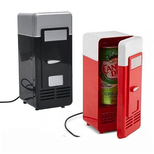 Mini nevera portátil frigorífico USB mini-frigo portátil para ...