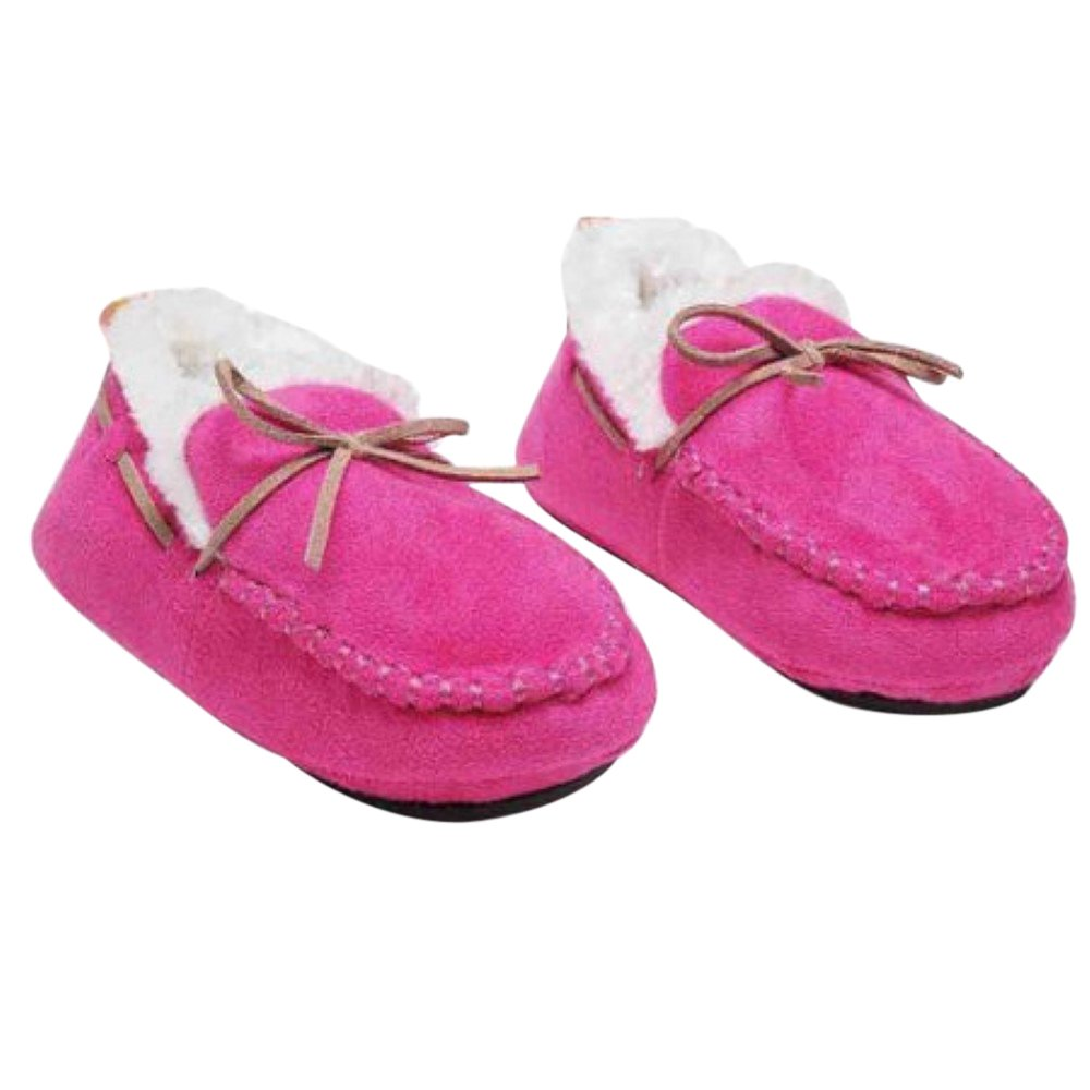 Skidders Toddler Boys Plush Moccasins