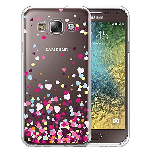 Silicone Soft Case for Samsung Galaxy E5 (Clear) - 2