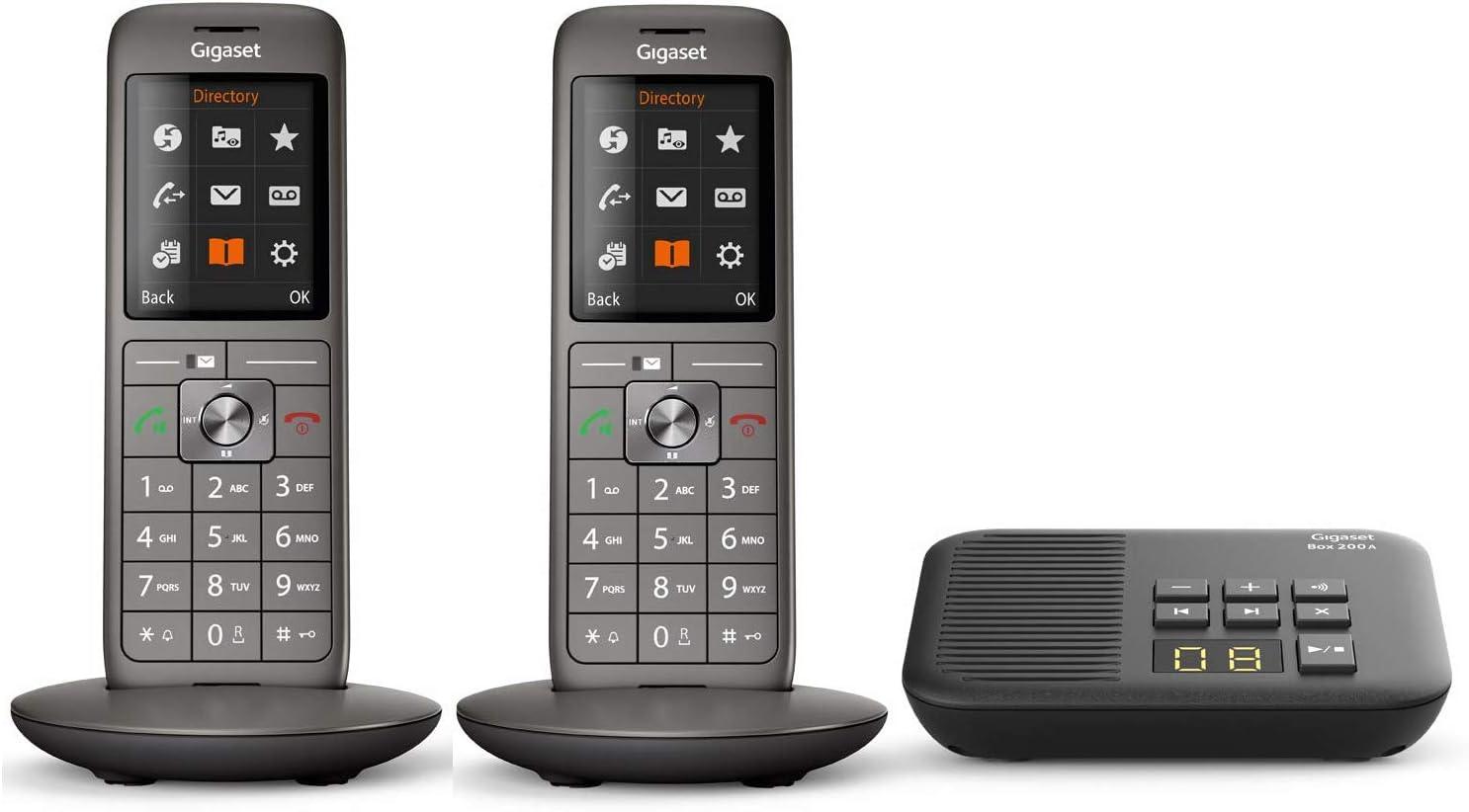 Gigaset Cl660a Duo Analoges Telefon Set Inkl 2 Elektronik
