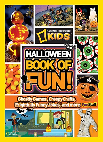 NG Kids Halloween Book of Fun (National Geographic