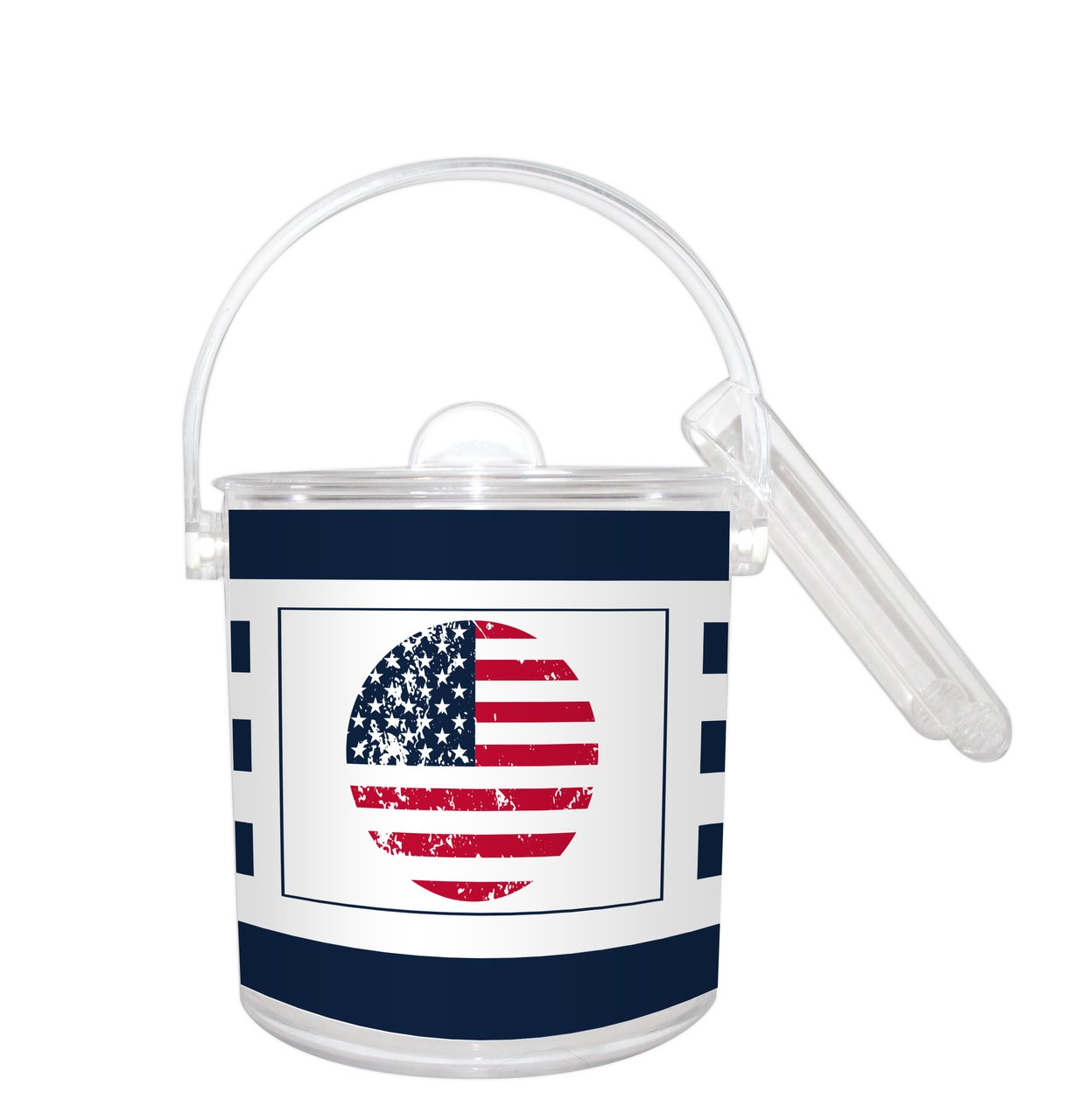 All American Ice Bucket with Paper Insert 1 1/2 Qt.