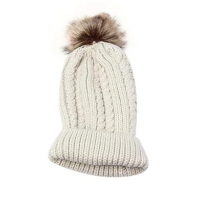 0170149e111 Kingko® Fashion Women Lady Girls Crochet Knitting Hat Beanie Beret Ski Ball  Cap Baggy Winter