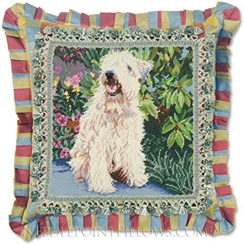Wheaten Terrier Needlepoint - 2