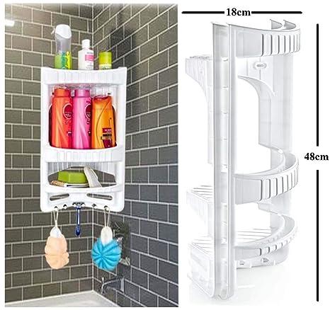 3 Etagen Badezimmer Eckregal Hange Eckregal Aus Kunststoff