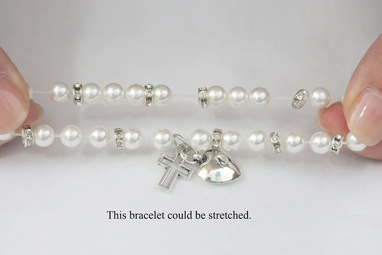 Tina Co Pearl Baby Bracelet Baby Girl Bracelet Pearl Baby Pearl