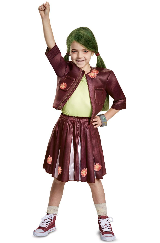 Medium (78) Disney Zombies Classic Zoey Girl's Costume Small