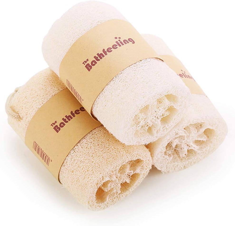3 pack Esponjas naturales para lavar platos, Estropajo ecológico ...
