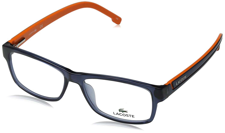 Eyeglasses LACOSTE L2707 421 BLUE STEEL-ORANGE