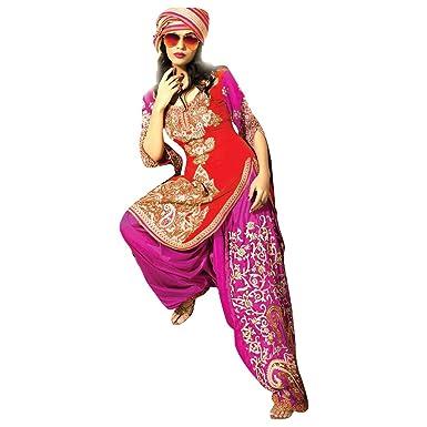Amazon.com: Punjabi patyala traje traje Salwar Anarkali de ...