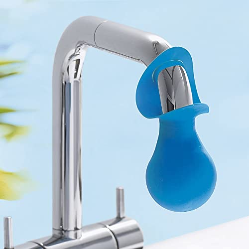 Limey Tap Descaling Gadget for Lime Scale Removal, Blue