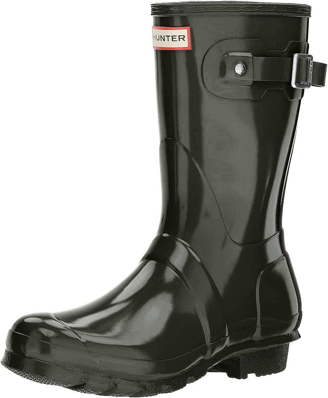 HUNTER Women's Original Short Gloss Snow Boot