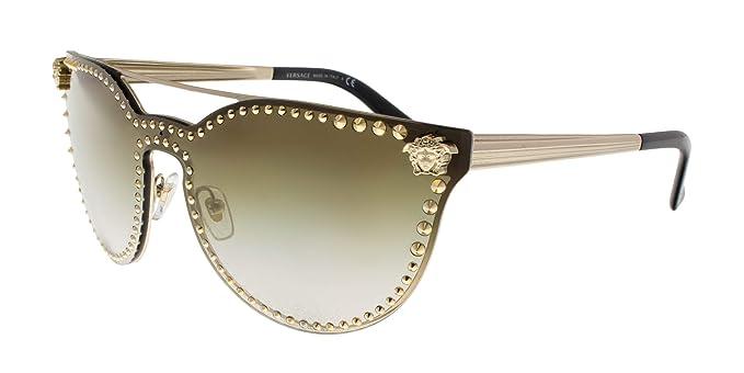 Amazon.com: Versace Rock Brow Bar - Gafas de sol para mujer ...