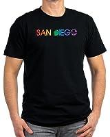CafePress - San Diego - Men's Fitted T-Shirt (dark)