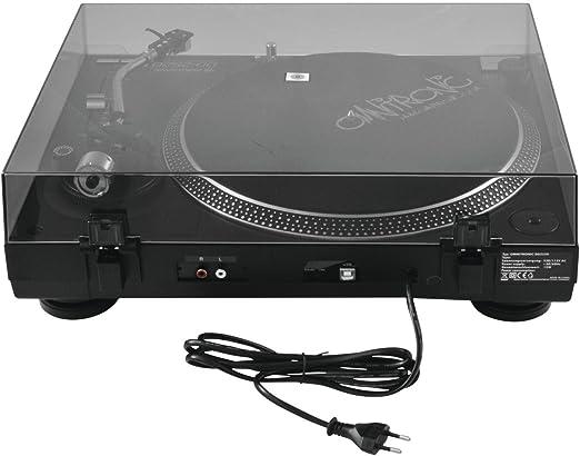 Omnitronic DD-2520 Negro - Tocadiscos (Negro, USB, 12 W, 115/230 V ...