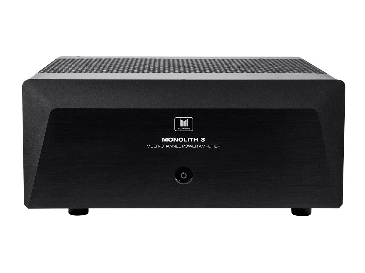 Monoprice Monolith 3x200 Watts Per Channel Multi-Channel Home Theater Power Amplifier by Monoprice