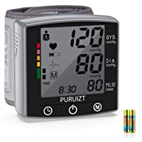 Wrist Blood Pressure Monitor, Puruizt Accurate Automatic Digital Blood Pressure...