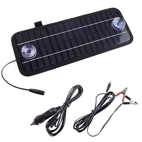 Batería solar para coche, barco, 12 V, 4,5 W, alta tasa de ...