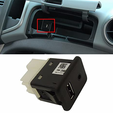 Amazon.com  AUX USB Socket Receptacle For GM Chevrolet Sonic 2012+ ... cdf68a54dfb