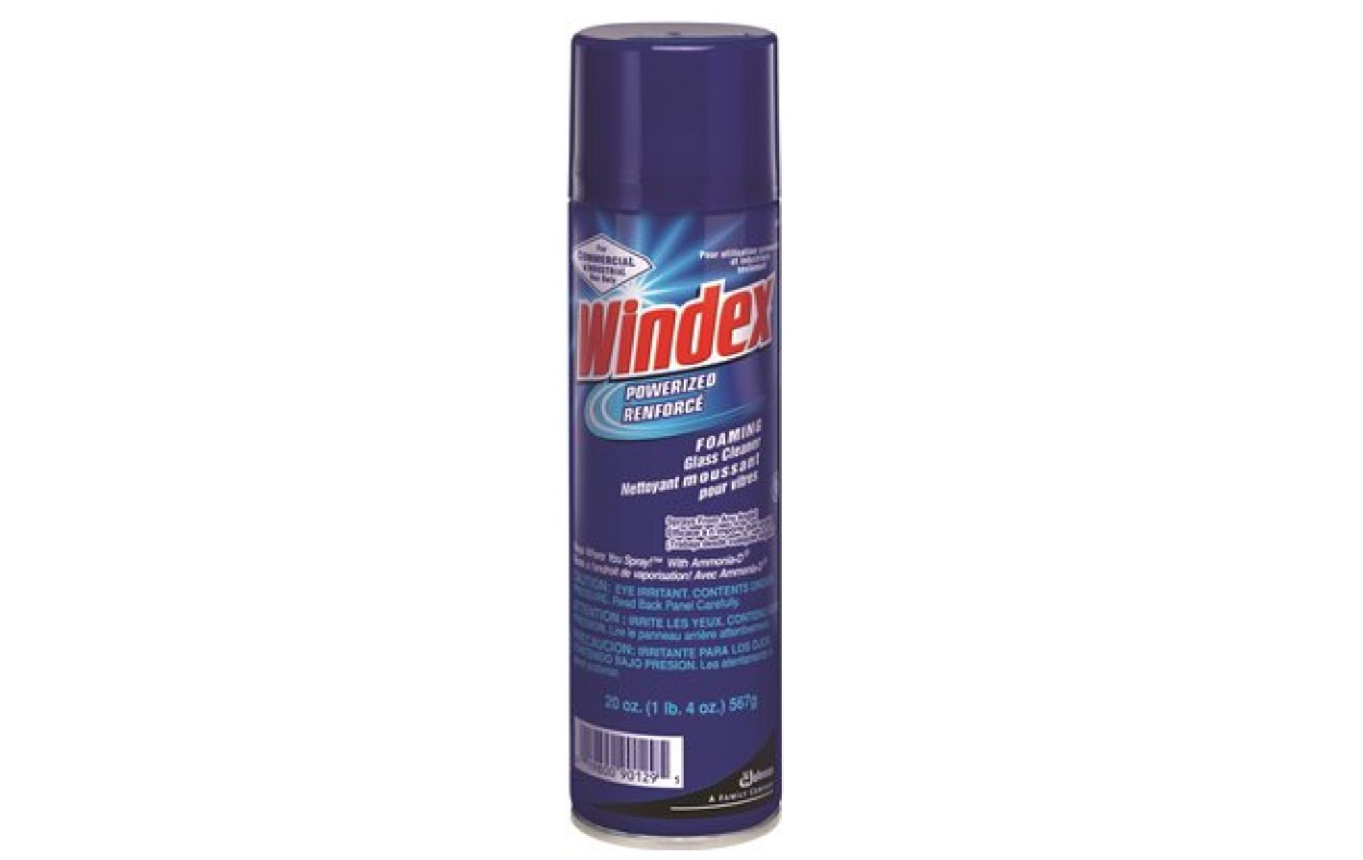 Windex Powerized Foaming Glass Cleaner Aerosol with Ammonia-D (19.7-Ounce, 12-Pack)