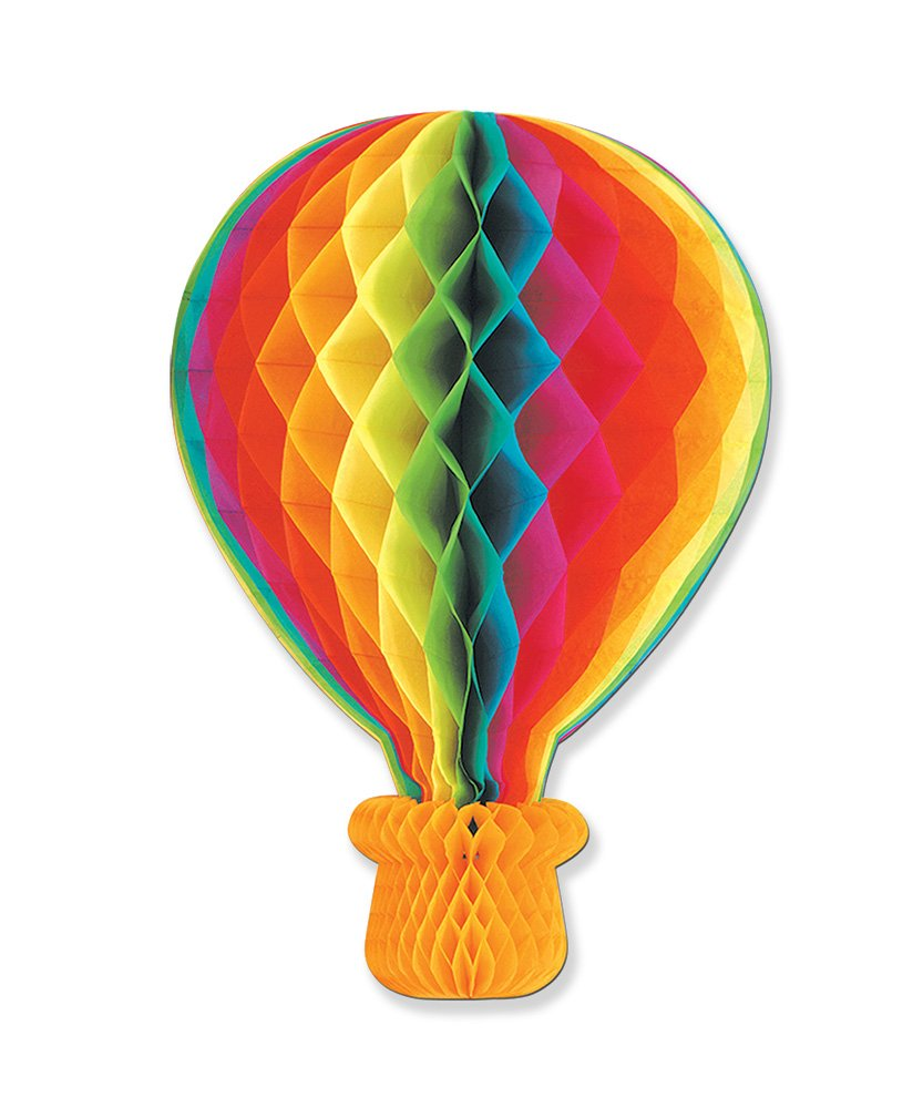 Rise Up:  Hot Air Balloon Hanging Decoration