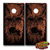 CL0050 Necronomicon CORNHOLE LAMINATED DECAL WRAP SET Decals Board Boards Vinyl Sticker Stickers Bean Bag Game Wraps Vinyl Graphic Image Corn Hole Evil Dead Army of Darkness Ash