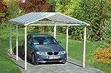 Einzel-Carport Aluminium